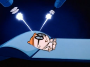 Dexter using the dream machine