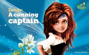 Disney Fairies Zarina A Cunning Captain