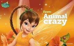 Disney Fairies Fawn Animal crazy