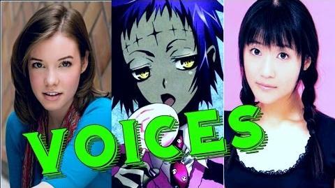 D Gray man Hallow (Eng & Jap) Voices Actors Αctress Characters ✔