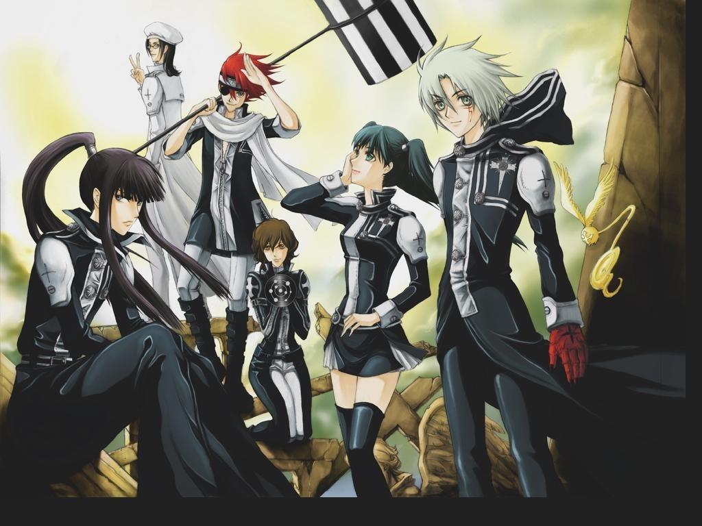 Exorzisten – Das D.Gray-Man Wiki - D Gray Man, Anime, Allen, Yu ...