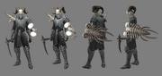 Necromancerm pose armored tf 00