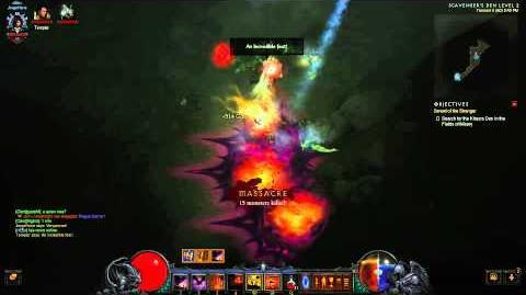 Clearing Scavenger's Den Diablo III 2.0