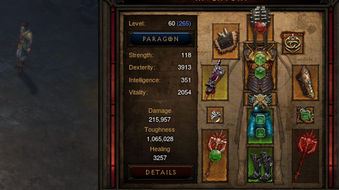 Diablo  Barbarian Zdps Build
