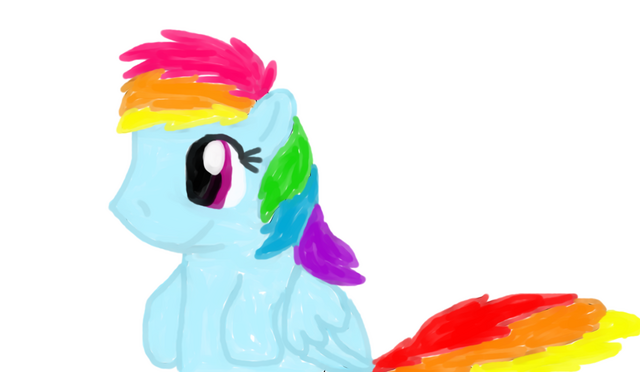 File:Rainbow Dash Painting.png