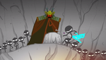 Lord Takagami killing a ninja