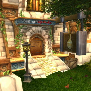 Eingangsbereich im Magierviertel