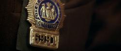 Ricky Walsh's Police Badge