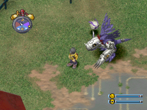 Digimon World MetalGreymon (Screenshot)