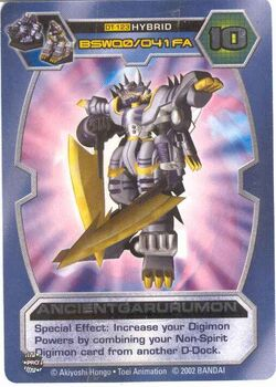 AncientGarurumon DT-123 (DT)