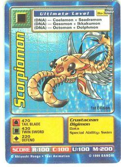 Scorpiomon Bo-32 (DB)