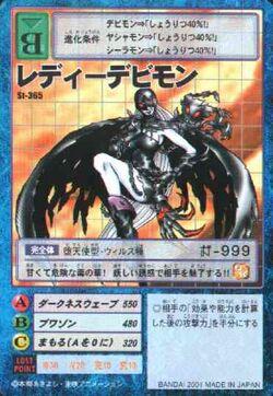 LadyDevimon St-365 (DM)