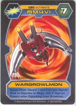 WarGrowlmon DT-18 (DT)