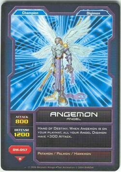 Angemon DM-057 (DC)