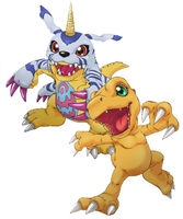 Agumon and Gabumon (Cyber Sleuth) b