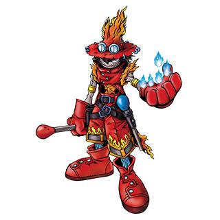 FlameWizardmon b