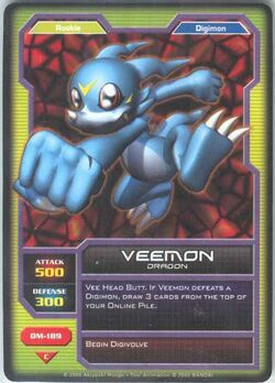 Veemon DM-189 (DC)