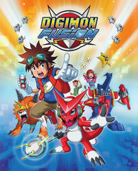 Digimon Fusion Promotional Poster 2