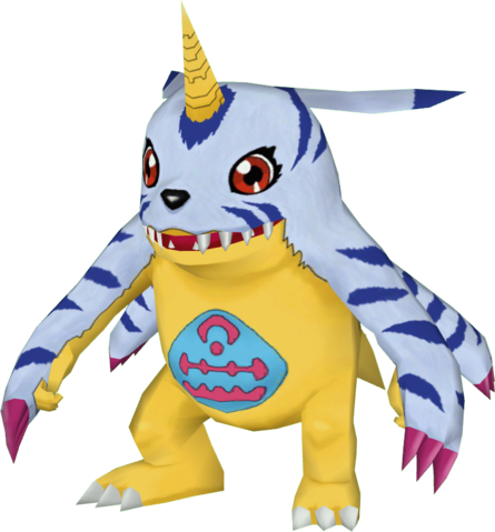 File:Gabumon dm.png