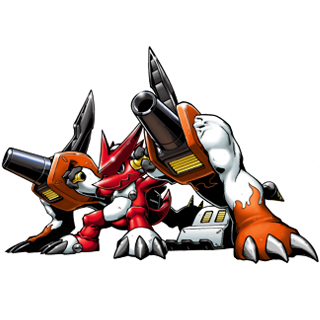 Shoutmon + Drill Cannon b