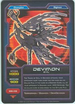 Devimon DM-116 (DC)