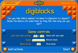 Digiblocks game