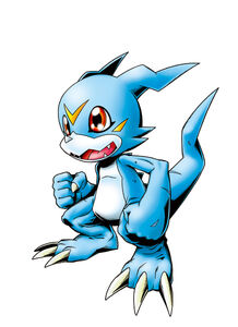 Veemon (Re-Digitize) b