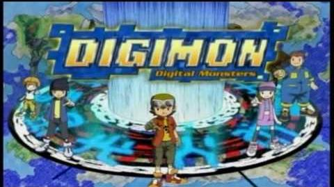 Digimon frontier english opening HD
