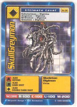 SkullGreymon St-32 (DB)
