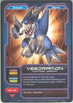 Veedramon DM-191 (DC)