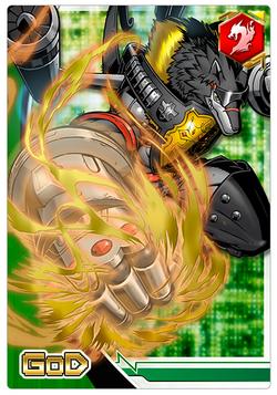 BlackMachGaogamon 2-012 (DCr)