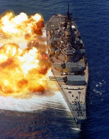 File:BB61 USS Iowa BB61 broadside USN.jpg