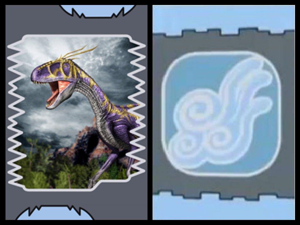 Utahraptor wikia dino rey fandom powered by wikia - Dinosaure king ...