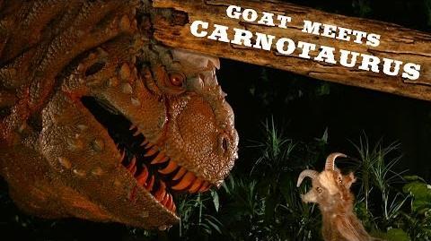 Carnotaurus Walt Disney World Goat Friends WDW Best Day Ever