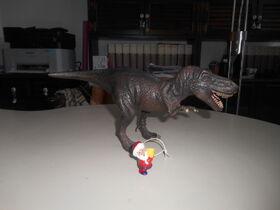 Babbo Natale e il tirannosauro