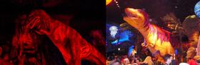 Disneyland T-Rex VS Disney world T-Rex