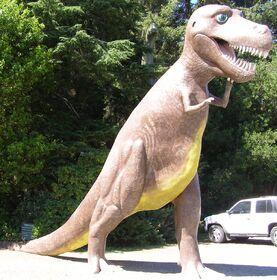 Prehistoric gardens T-Rex