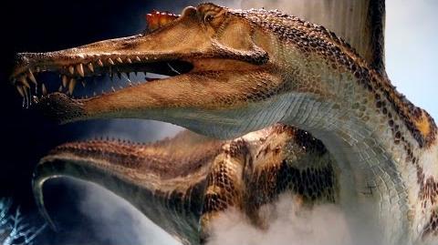 'River Monster' 50-Foot Spinosaurus