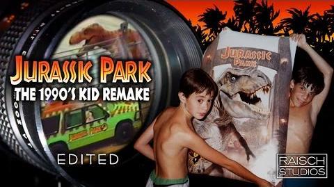 Jurassic Park 1990's Kid Remake