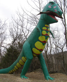 Dworld T-Rex