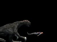 Regina defeated by Therizinosaurus