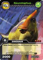 Saurolophus TCG card