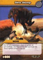 Dino Stomp TCG Card