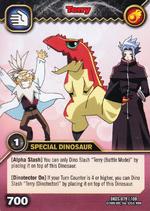 Tyrannosaurus - Terry TCG Card 5-DKDS