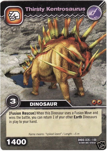 Kentrosaurus Dinosaur King FileKentrosaurus-Thirsty TCG