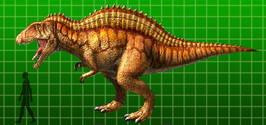Acrocanthosaurus dinosaur king fandom powered by wikia - Dinausaure king ...