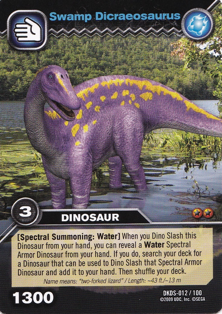 Dicraeosaurus dinosaur king fandom powered by wikia - Dinausaure king ...