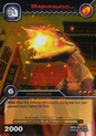Mapusaurus TCG Card 1-Gold