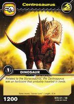 Centrosaurus TCG Card