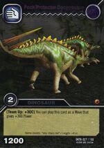 Dacentrurus-Pack Protector TCG Card